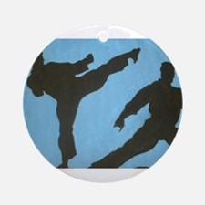 karatecas Round Ornament