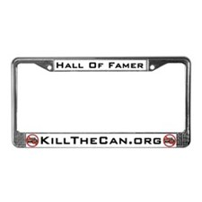 """Hall Of Famer"" License Plate Frame"