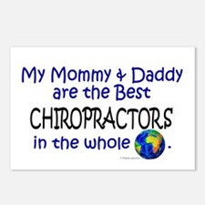 Best Chiropractors In The World Postcards (Package