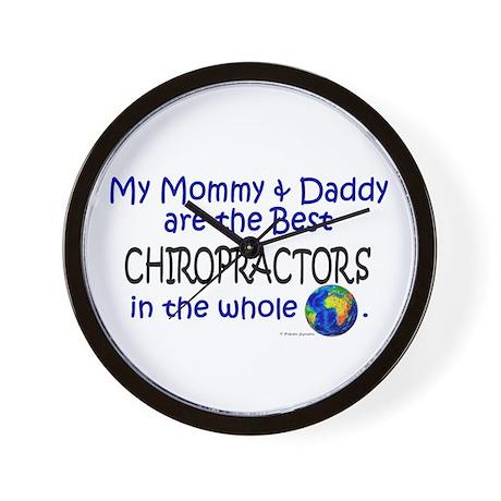 Best Chiropractors In The World Wall Clock