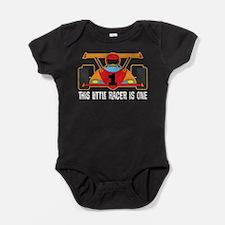 1st Birthday Race Car Baby Bodysuit