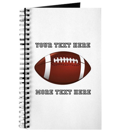 Personalized Football Journal