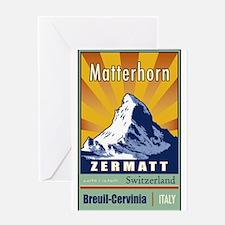 Unique Switzerland Greeting Card