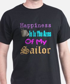 happiness is in the arms of m T-Shirt