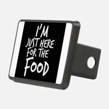 Im Just Here For The Food Hitch Cover
