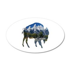 BISON Wall Decal