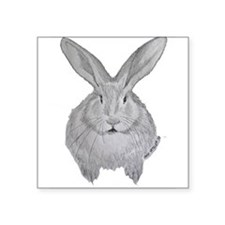 Flemish Giant by Karla Hetzler Sticker