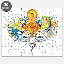 Cool Buddha eyes Puzzle