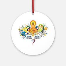 Cute Carmas Round Ornament