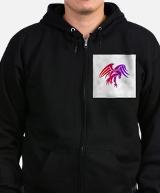 eagle tribal tattoo design Zip Hoodie