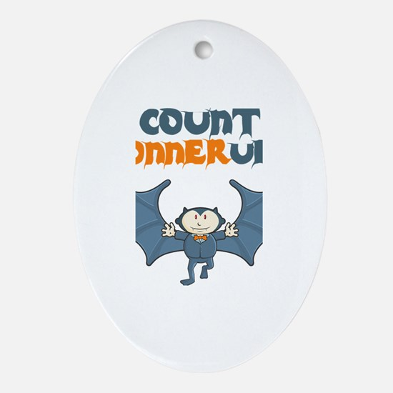 Count Connerula Oval Ornament