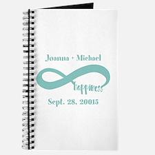 Infinity Happiness Custom Names Journal