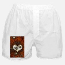 Steampunk, wonderful heart Boxer Shorts