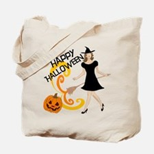Chic Witch Tote Bag