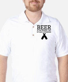 Beer Is The Reason I Get Up Each Afternoon T-Shirt