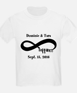 Bride and Groom Infinity Modern T-Shirt