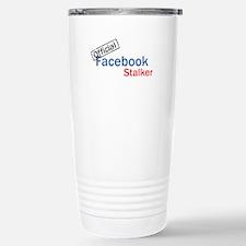 Official Facebook Stalk Travel Mug