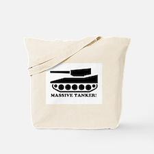 massive tanker Tote Bag