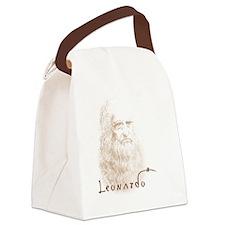 Unique Vinci Canvas Lunch Bag
