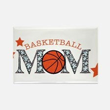 Cute Basketball mom Rectangle Magnet