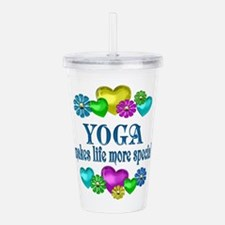 Yoga More Special Acrylic Double-wall Tumbler