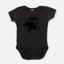 Cute Passport Baby Bodysuit