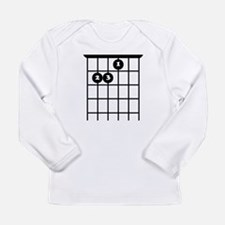 e chord guitar tab Long Sleeve T-Shirt