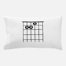 e chord guitar tab Pillow Case