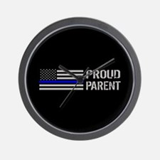 Police: Proud Parent Wall Clock