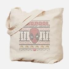 Deadpool Holiday Tote Bag
