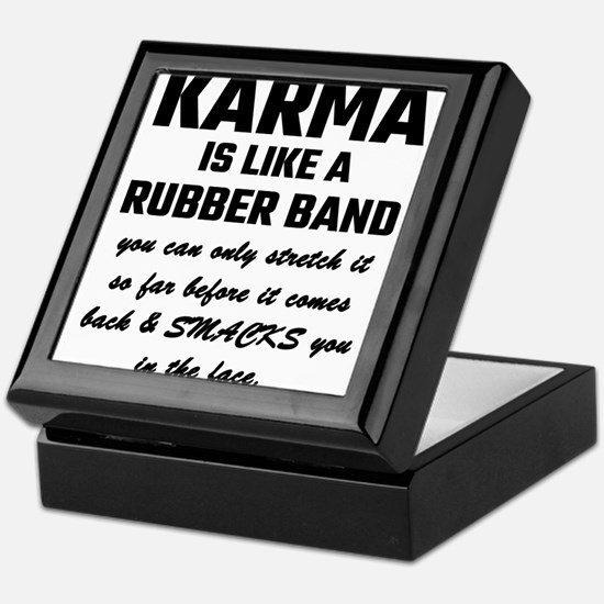 Cute Karma Keepsake Box