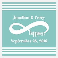 Custom Names Infinity Happi Invitations