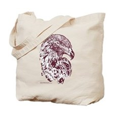 Wedge Tailed Eagle Bold Sepia Tote Bag