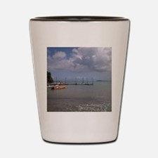 Puerto rico beach Shot Glass