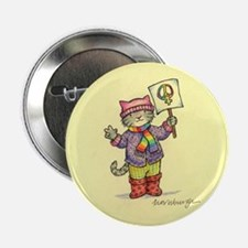 "Pussyhat Cat Marcher 2.25"" Button (10 pack)"