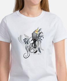 Gray Cockatiel T-Shirt