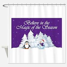 Magic of the Season Shower Curtain