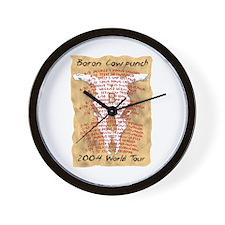 BCP World Tour Wall Clock