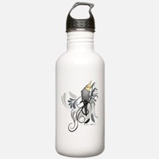 Gray Cockatiel Water Bottle