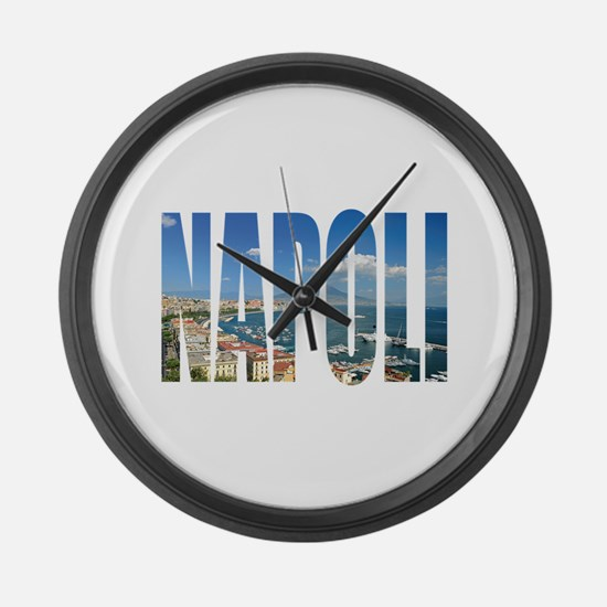Napoli Large Wall Clock