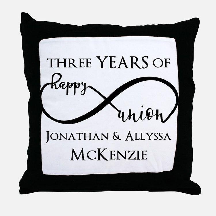 Anniversary Pillows Anniversary Throw Pillows