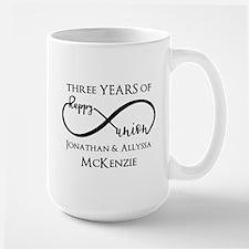 Custom Anniversary Years and Names Infi Mug