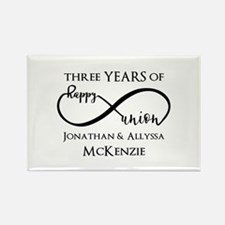 Custom Anniversary Year Rectangle Magnet (10 pack)