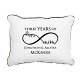 Anniversary Rectangle Canvas Pillows