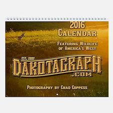 2016 Dakotagraph Western Wildlife Wall Calendar