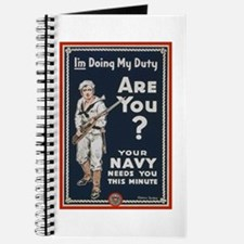 WWI USN Doing My Duty Navy Propaganda Journal