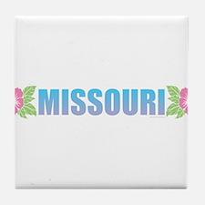 Missouri Design Tile Coaster