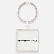 Cute Firefly tv show Square Keychain