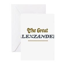 Alexzander Greeting Cards (Pk of 10)