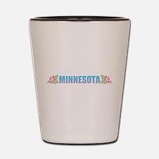 Minnesota Design Shot Glass
